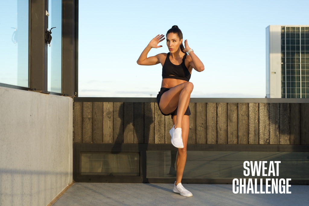 Hit Your Health & Fitness Goals With The Sweat Challenge