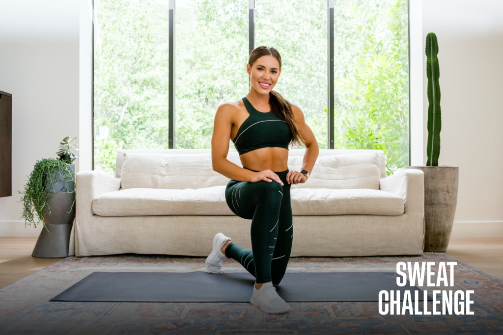 Find Your PWR At Home With The SWEAT Challenge