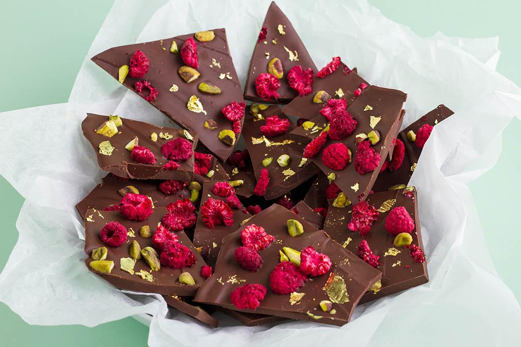 Try dark chocolate instead of milk chocolate