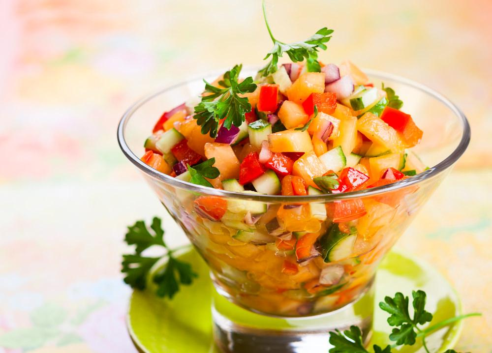 Try homemade salsa instead of tomato ketchup