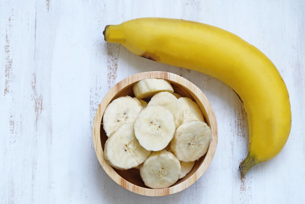 Healthy Banana Muffin Ingredients