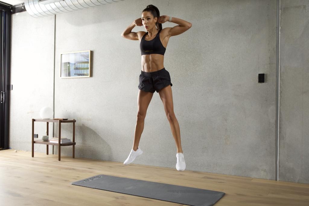 Free Full-Body High Intensity Zero Equipment With Kayla Workout