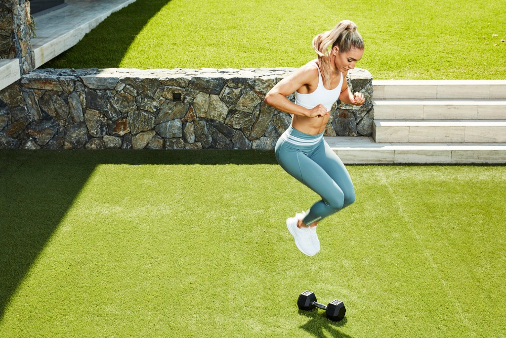 Express Workout From High Intensity Strength With Cass Olholm