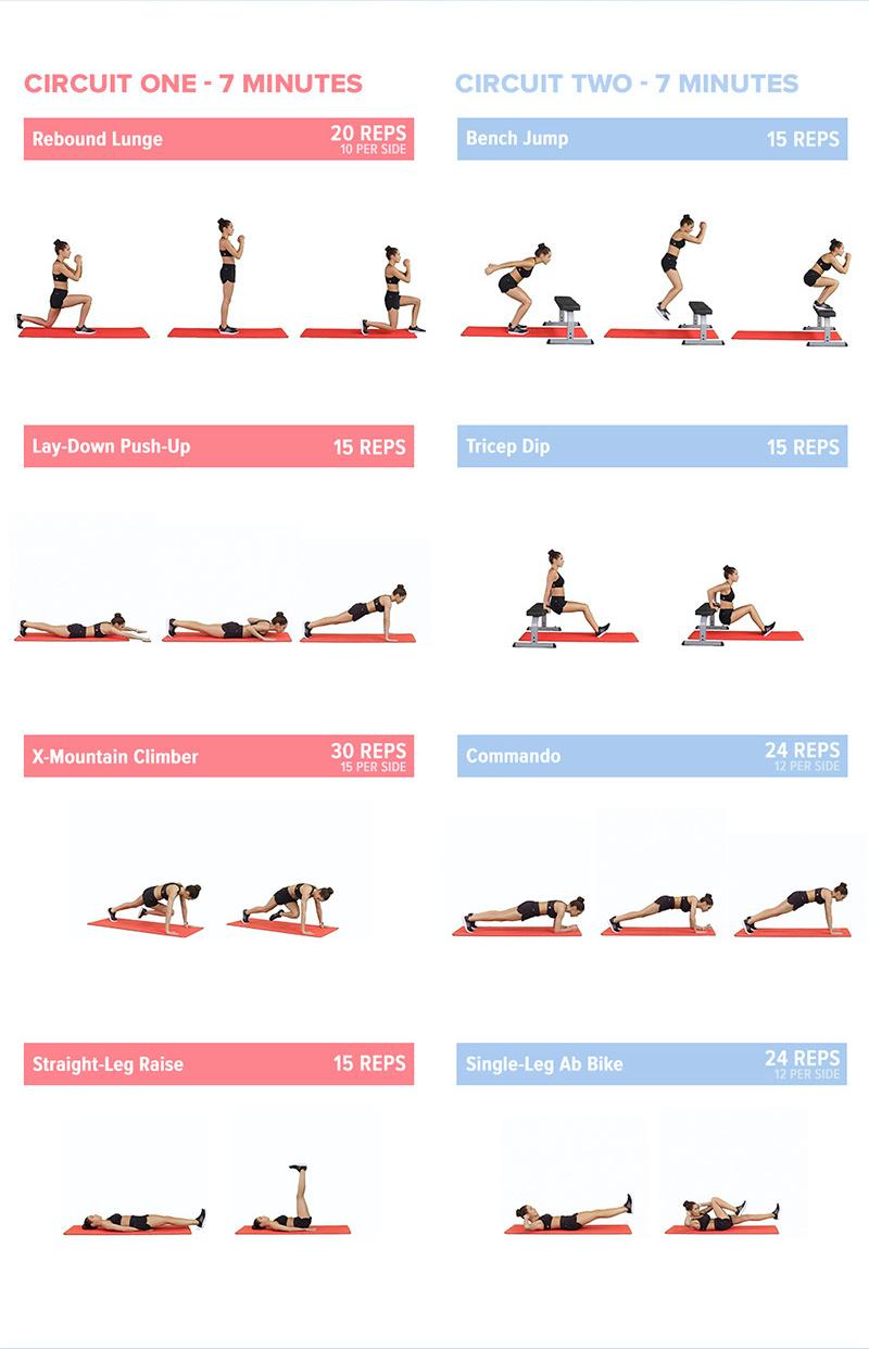 Free BBG Workout