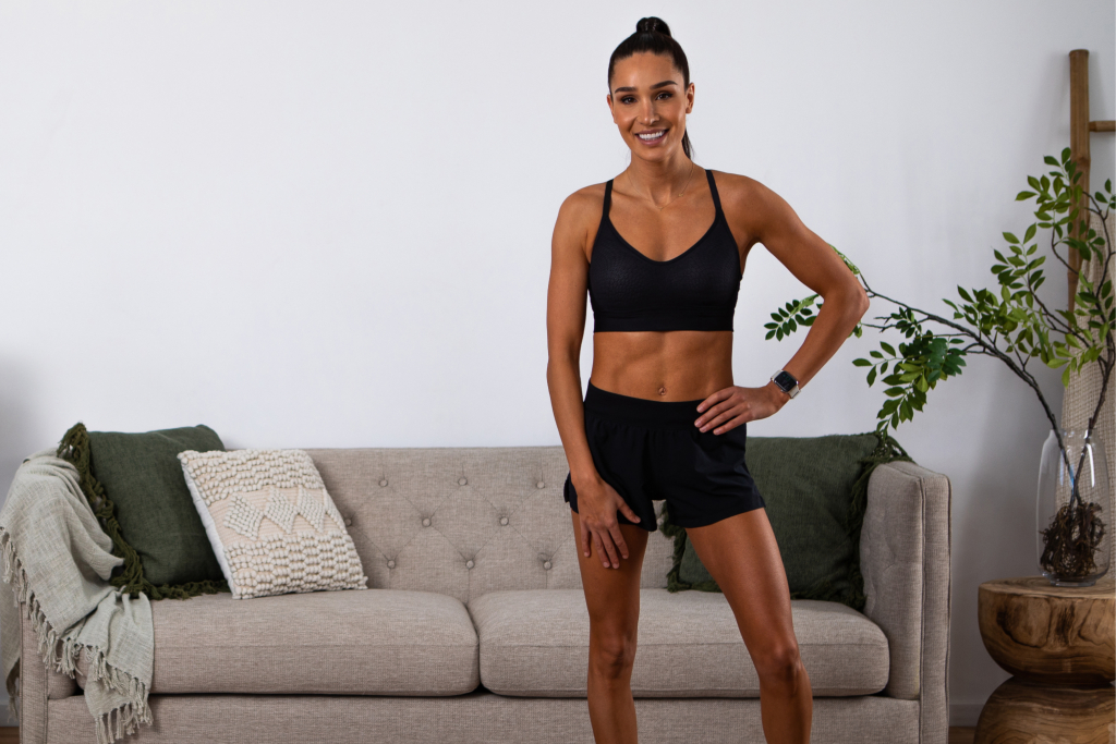10 Minute Express Ab Challenge with Kayla Itsines