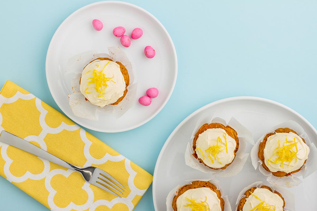 Healthy Carrot Cake Muffin Recipe